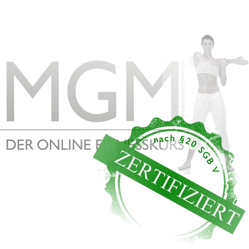 MEIN GESUNDHEITSMANAGER – Der Online Fitnesskurs (zur Ganzkörperkräftigung) wurde von den Lehrbeauftragten Peter Röhr & Daniel Rothmund entwickelt. Zertifiziert von der Kooperationsgemeinschaft gesetzlicher Krankenkassen
